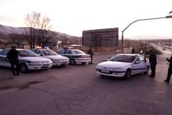 نظارت بر تردد خودروها در ورودیهای فیروزکوه برقرار است
