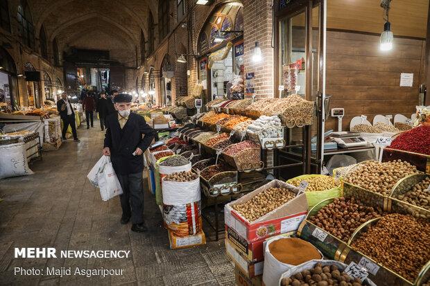 Tahran Büyük Çarşısı'ndan son fotoğraflar