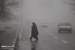 مه گرفتگی در جاده های گلستان/ احتمال بارش های پراکنده