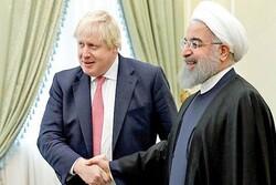 حكومة جونسون تعرب عن رغبتها لتحسين العلاقات مع إيران بعد البريكست