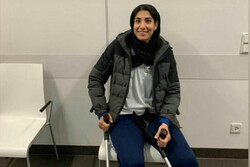 Hamideh Abbasali to return to Iran after undergoing surgery in Germany
