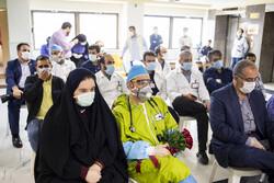 بقیۃ اللہ (عج) اسپتال کے کورونا وائرس وارڈ میں جشن یوم پدر منعقد