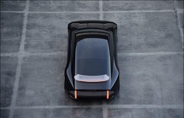 طرح اولیه خودرویی که به جای فرمان با جوی استیک کنترل می شود