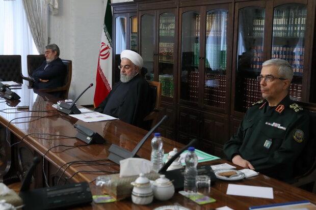روحاني يؤكد على ضرورة تلبية متطلبات الطاقم الطبي لمكافحة كورونا