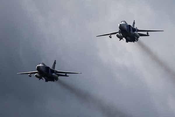 قصف جوي تنفذه مقاتلات تابعة لتركيا على سماء محافظة دهوك العراقية