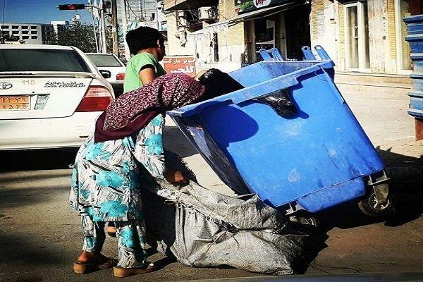 فعالیت ۳۵۴ خانه سلامت برای مقابله با زباله گردی کودکان