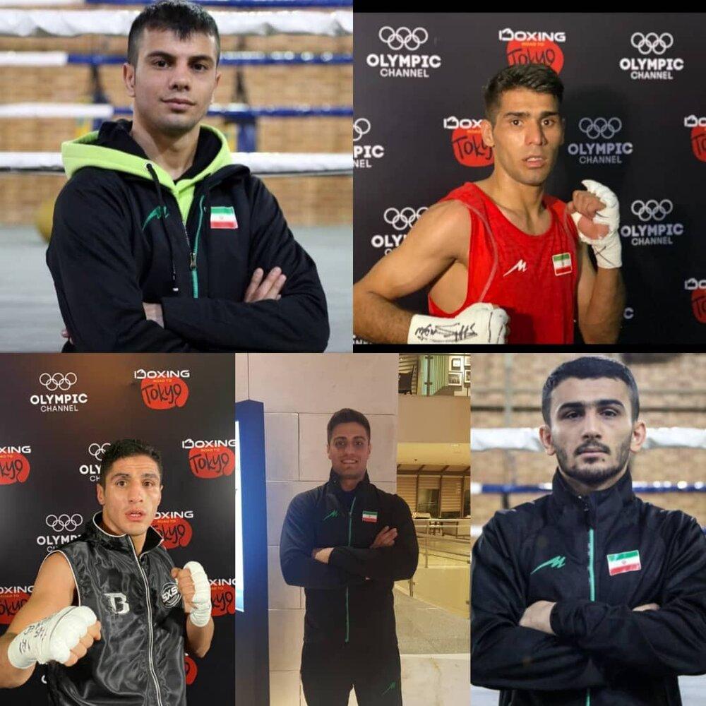 شرایط کسب سهمیه المپیک ۵ ملی پوش کشور/ سهمیه در مشت ایرانی هاست