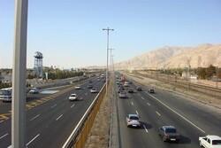 ترافیک سنگین در تمام محورهای ورودی به پایتخت/۴.۴ درصد کاهش تردد
