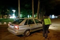 برپایی ایستگاه صلواتی برای مقابله با کرونا در کاشمر