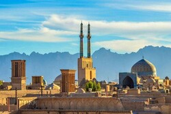 Yazd, largest mud brick city in world