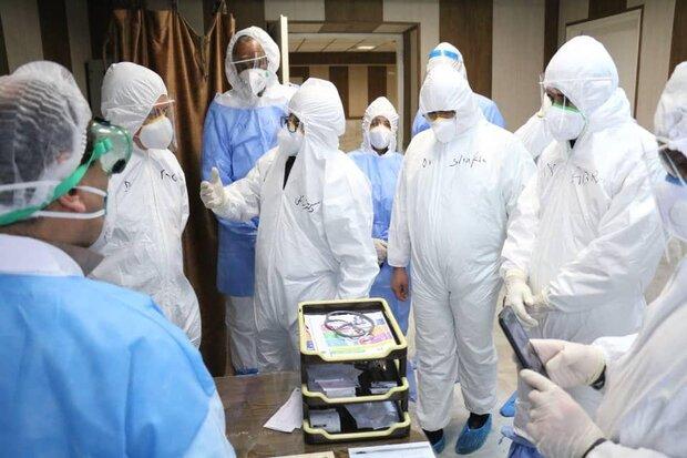 WHO representatives visit Forghani Hospital in Qom