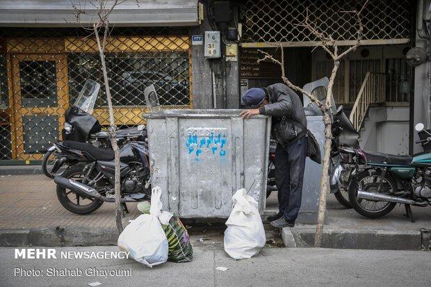گسترش کرونا باگاری زباله گردی/غفلت از زباله گردهافاجعه ساز می شود