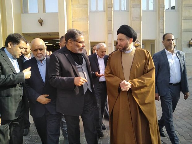 Shamkhani meets with leaders of Iraqi political groups