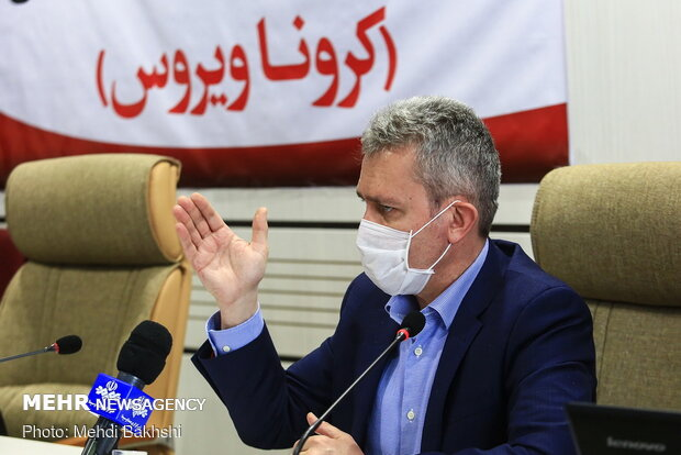 WHO representative's presser in Qom regarding COVID-19
