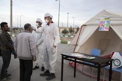 اجرای طرح غربالگری مسافران و کنترل ورودی و خروجی ها در فیروزکوه