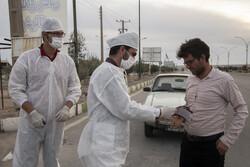 Coronavirus Screening Plan launched in Semnan entrances
