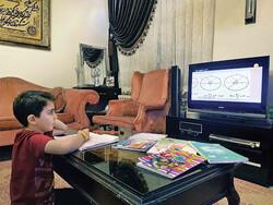 Iranian students continue education through TV channels amid Corona threat