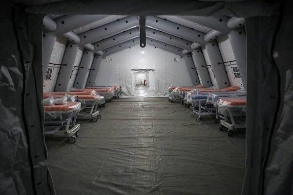 Reşt kentinde mobil hastane hizmete başladı