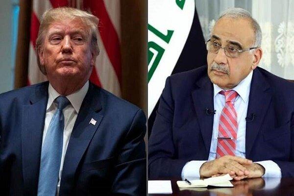 بغداد نے امریکی مطالبہ رد کردیا/ ایران کے ساتھ قوی تعلقات جاری رکھنے کا عزم
