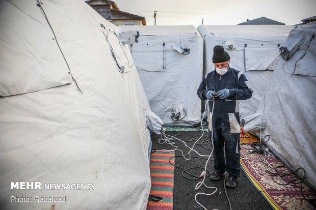 Gilan'da seyyar hastane kuruldu