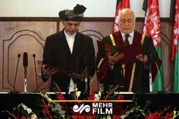 افغان صدر اشرف غنی کی حلف برداری کی تقریب ميں بم دھماکہ
