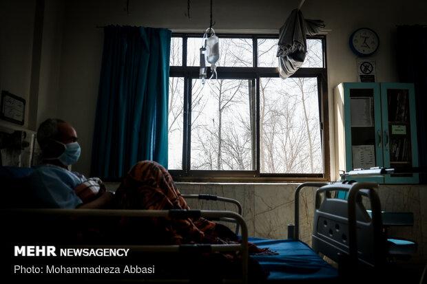 Doctors, nurses at forefront of war on coronavirus in Masih Daneshvari Hospital دانشوری