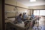 بخش ویژه کرونا بیمارستان امام حسین(ع) شاهرود