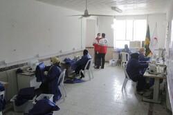 کارگاه تولید لباس بیمارستانی به همت خیران بندرگزی راه اندازی شد