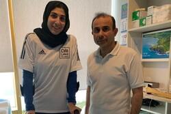 بازگشت بانوی المپیکی کاراته به ایران