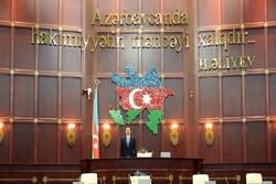Aliyev'in katılımıyla Azerbaycan Meclisi'nin ilk oturumu başladı