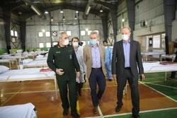 ڈبلیو ایچ او کے نمائندوں کا تہران میں زیرعلاج افراد کا مشاہدہ