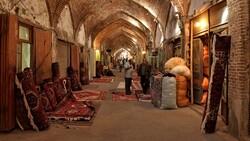 حال و هوای بازار تاریخی تبریز در روزهای کرونایی