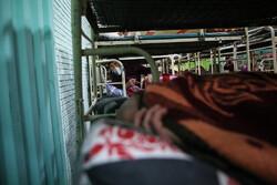گرمخانه اراک در روزهای سرد پذیرای افراد بی سرپناه است