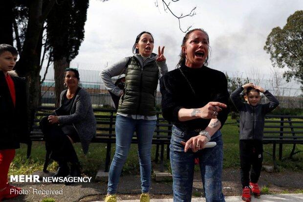İtalya'da hapishanelerde koronavirüs isyanı!