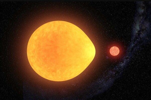 ستارهای به شکل قطره اشک کشف شد