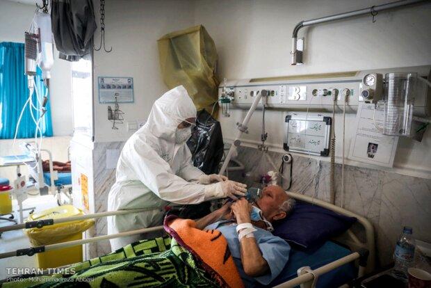 Inside a Tehran hospital treating coronavirus patients