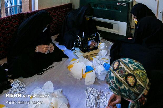 کارگاه خانگی تولید ماسک
