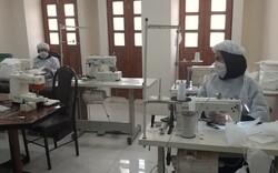 تولید ماسک توسط شرکتهای دانش بنیان استان بوشهر آغاز شد