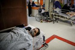 """القسم الخاص للمصابین بفیروس کورونا في مستشفی """"بقیة الله"""""""