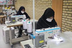 راه اندازی واحد های تولید ماسک بهداشتی در هنرستان میناب