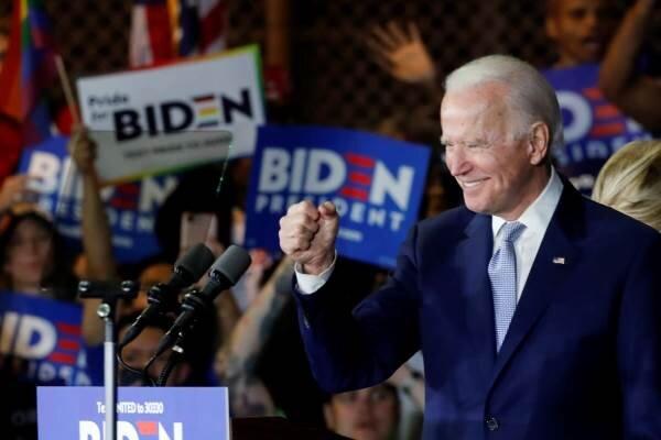 موفقیت جو بایدن در انتخابات مقدماتی و نمایشی