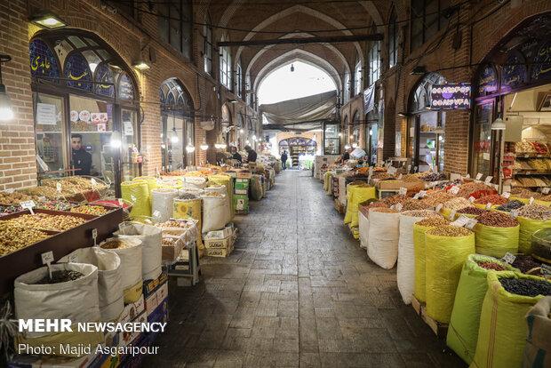 بازار خشکبار تهران که همه ساله با آغاز اسفندماه رونق میگرفت، امسال شاهد رونق همه ساله نیست