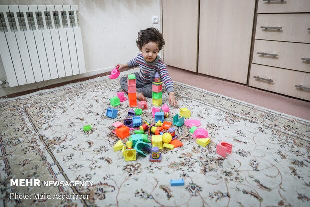 بهترین محیط برای بازی کودکان محیط خانه است
