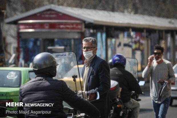 هدوء شوارع طهران في ظل كورونا