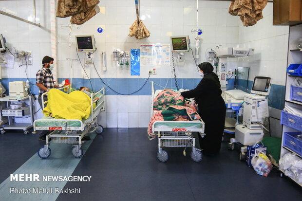 بخش ویژه کرونا بیمارستان شهید بهشتی قمSpecial 'coronavirus' ward in Shahid Beheshti Hospital, Qom