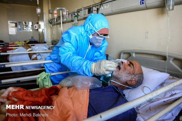 Special 'coronavirus' ward in Shahid Beheshti Hospital, Qom