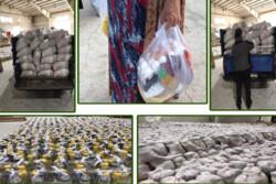 ۲۰۰۰ بسته حمایتی میان افراد نیازمند استان قزوین توزیعشد