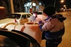 İran'da sokaklar böyle dezenfekte eiliyor