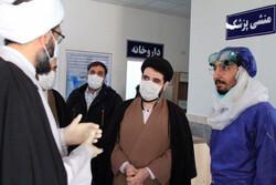 ہمدان کی عمومی جگہوں پر اسپرے کی مہم جاری