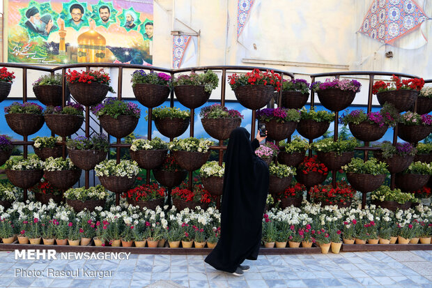 Mashhad in preparation to welcome spring
